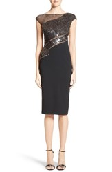 Pamella Roland Women's Embellished Cocktail Dress