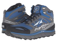 Altra Footwear Lone Peak 3 Mid Neoshell Electric Blue Men's Shoes