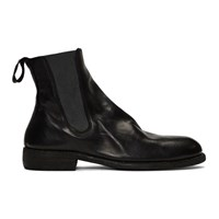 Guidi Black Horse Chelsea Boots