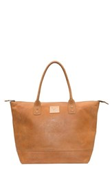 Will Leather Goods 'Getaway' Leather Tote Brown Tan