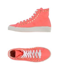 Cycle High Tops And Trainers Fuchsia