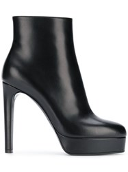 Casadei High Heel Ankle Boots Black