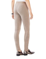 Bcbgmaxazria Dominick Snap Sided Leggings Dark Fatig