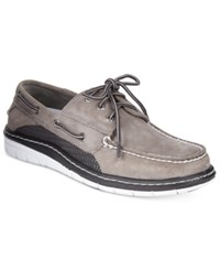 Sperry Men's Billfish Ultralite Boat Shoes Men's Shoes Grey Black