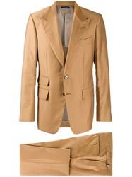 Tom Ford Two Piece Suit Neutrals