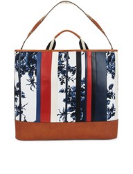 Sonia Rykiel Sailor Flower Oversized Tote Multi
