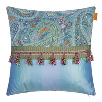 Etro Seguret Cushion 45X45cm Teal