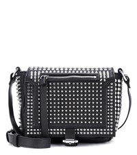 Mcq By Alexander Mcqueen Loveless Mini Leather Shoulder Bag Black