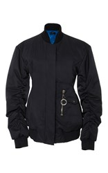 Ellery Cars And Races Bomber Jacket Black