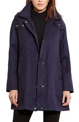 Lauren Ralph Lauren Women's A Line Jacket With Removable Liner Regal Navy