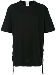 Lost And Found Rooms Taped T Shirt Men Cotton Xxl Black