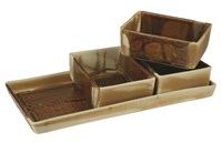 Alex Marshall Studios Gourmet Rectangle Serving Tray