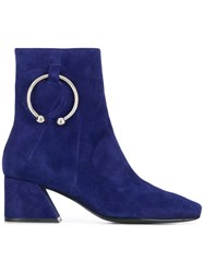 Dorateymur Nizip Ankle Boots Blue