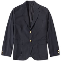 Beams Plus 3 Button Blazer Blue