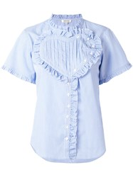Manoush Striped Blouse Blue