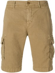 Loro Piana Side Pockets Loose Shorts Nude And Neutrals
