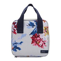Joules Lunch Bag Grey Whitstable Floral