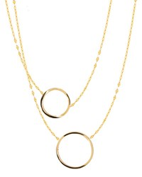 Lana Small 14K Gold Two To Tango Necklace Yellow Gold