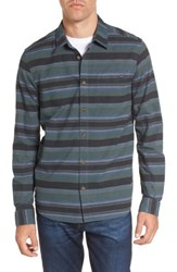 O'neill Men's Barton Stripe Woven Shirt Army