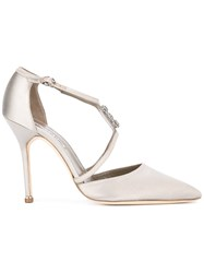 Manolo Blahnik Seneca Pumps Grey