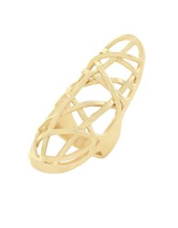 Cole Haan Banded Goldtone Ring