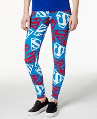Bioworld Juniors' Superman Printed Leggings