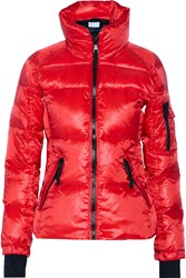 W118 By Walter Baker Daphne Quilted Shell Down Coat Red