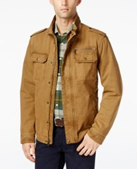 G.H. Bass And Co. Snap Pocket Military Jacket Workman Brown