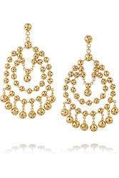 Paula Mendoza Barcelona Gold Plated Earrings