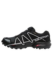 Salomon Speedcross 4 Gtx Trail Running Shoes Black Metallic Oxide