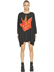 Vivienne Westwood Who Are Our Rulers Cotton Jersey Dress