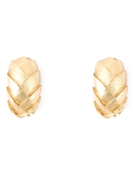 Christian Dior Vintage Wreath Clip On Earrings