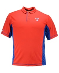 Majestic Men's Texas Rangers Top Of The Inning Polo Red