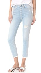 Mcguire Denim High Waisted Vintage Slim Jeans Beach Slang