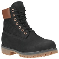 Timberland Icon Quilted 6 Inch Premium Boots Black Quilted