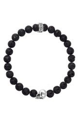 King Baby Studio Lava Rock Bead Bracelet