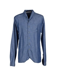 Uniforms For The Dedicated Denim Shirts Blue