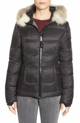 Women's Pajar 'Harlow' Genuine Coyote Fur Trim Hooded Down Jacket