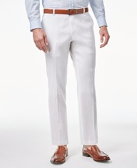Inc International Concepts Men's Stretch Slim Fit Pants Only At Macy's White