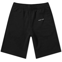Off White Sweat Short Black