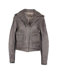 Zadig And Voltaire Coats And Jackets Jackets Women Grey