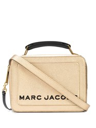 Marc Jacobs The Metallic Textured Box 23 Bag Gold