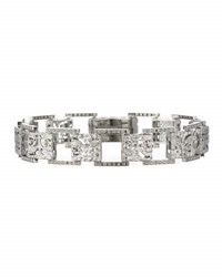Marco Ta Moko The Other Half 18K White Gold Band Ring With Diamonds
