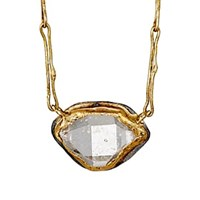 Judy Geib Marquise Pendant Necklace Gold Silver