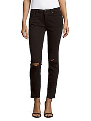 Vigoss Cotton Blend Skinny Jeans Black