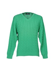 Henry Cotton's Sweaters Green