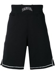 Diesel Boxing Style Shorts Black