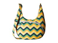 Kavu Sydney Satchel Cactus Bloom Satchel Handbags Green