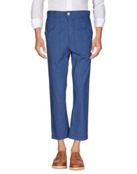 Julien David Casual Pants Slate Blue
