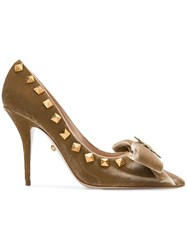 Fausto Puglisi Studded Pumps Nude And Neutrals